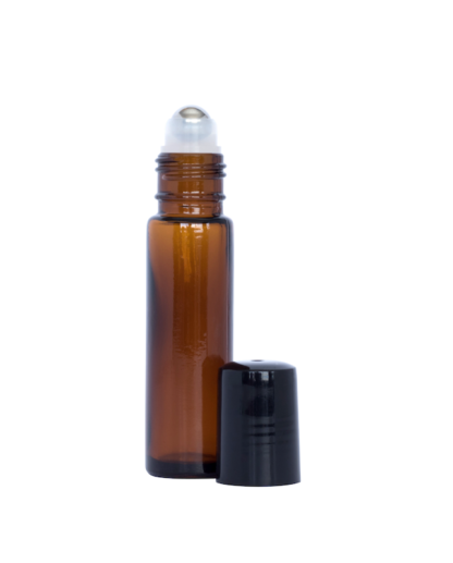 10ml Amber Glass Roller Bottle