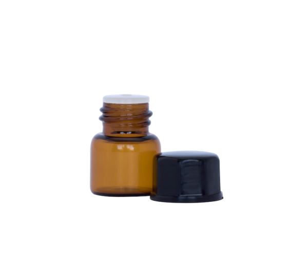 1ml Amber Glass Vial