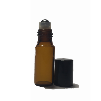 5ml Amber Glass Roller Bottle