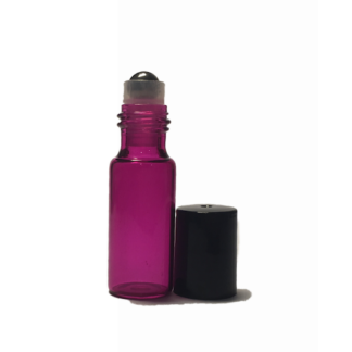 5ml Pink Glass Roller bottle