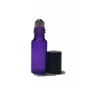 5ml Purple Glass Roller Bottle