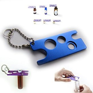 Metal oil key