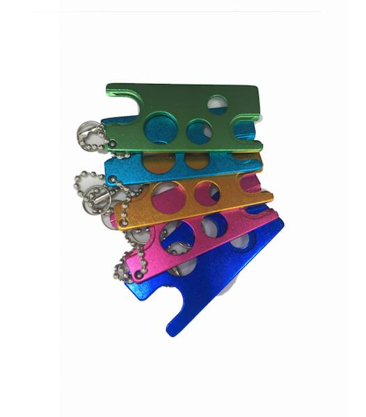 metal oil keys