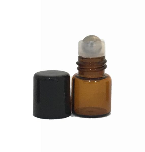 1ml Amber Roller Bottle