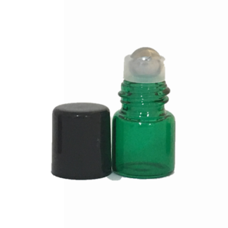 1ml Green Roller Bottles