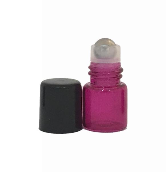 1ml Pink Roller Bottles