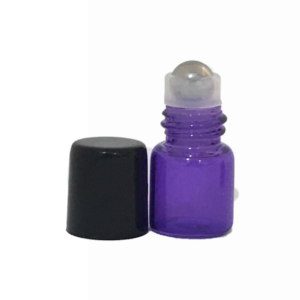 1ml Purple Roller Bottles