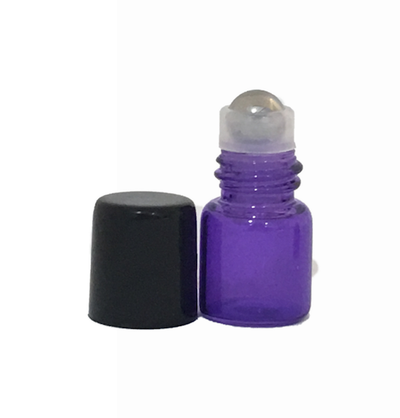 1ml Purple Roller Bottles