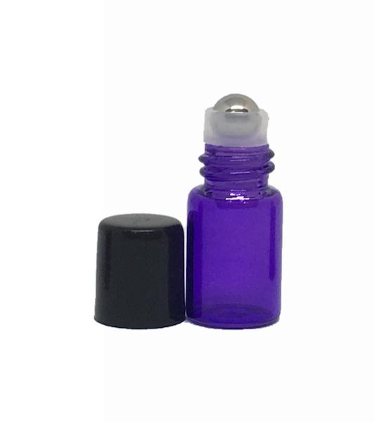 2ml purple roller bottle