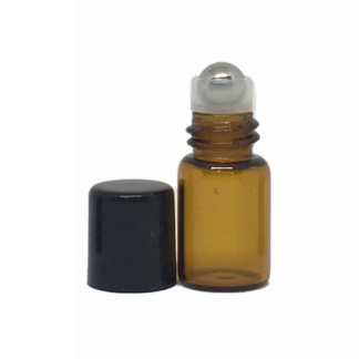 2ml Amber Glass Roller Bottles