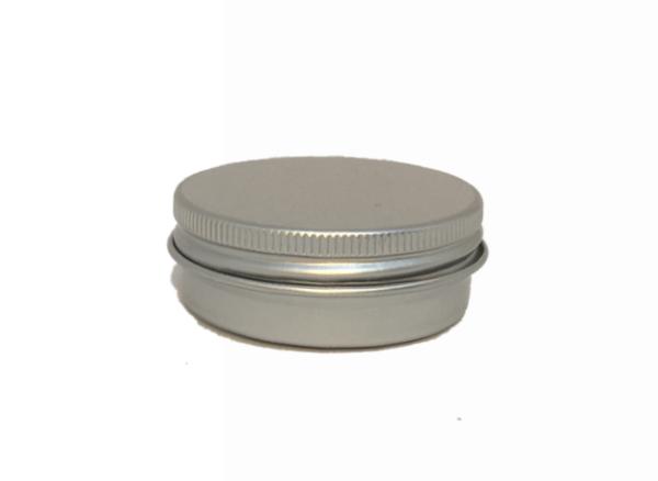 Aluminium Round Cosmetic Tin 15gms