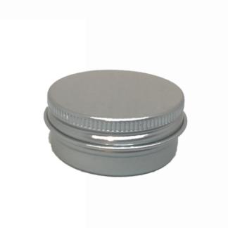 Aluminium Round Cosmetic Tin 30gms