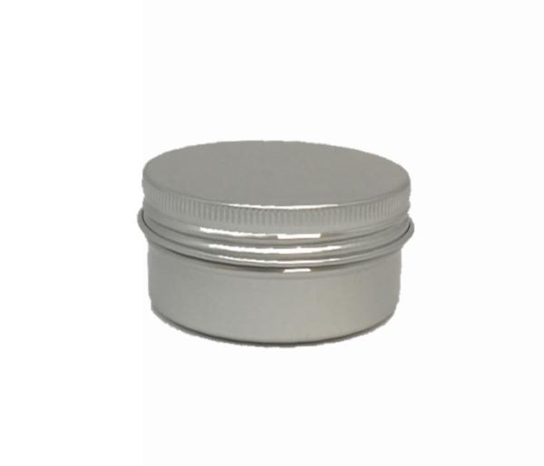 Aluminium Round Cosmetic Tin 50grams