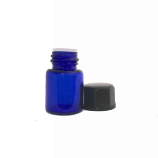 2ml Blue Glass Vial with Oriface Reducer
