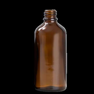100ml Amber Glass Bottle