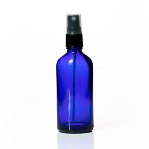 Euro 100ml Blue Bottle with Fine Mist Spray Top