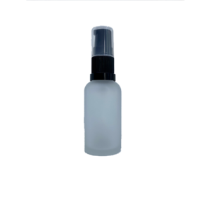Euro 30ml Frosted Glass Bottle with Serum Pump Spray